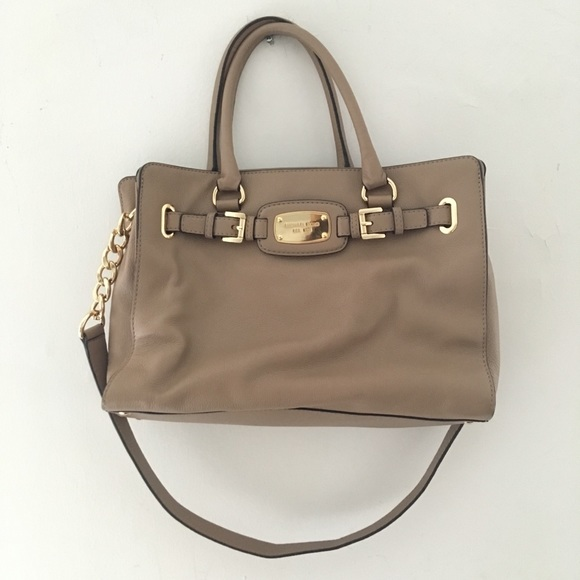 d1ceef002a724f Michael Kors Hamilton Leather East West Satchel. M_5b476dbdbaebf60199818858